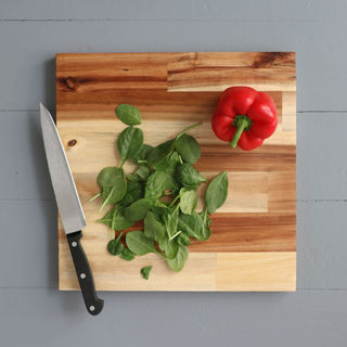 Square Chopping Boards - Natural Acacia