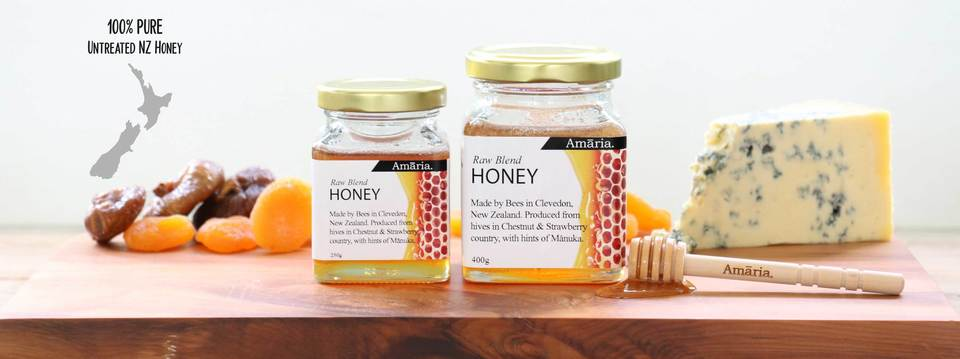 Honey and candle products by Amaaria