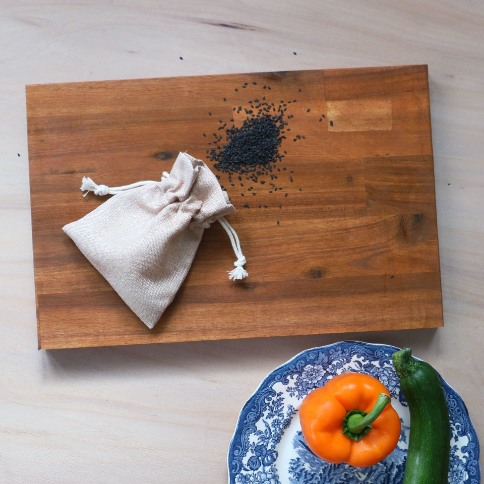 Rectangle Chopping Boards - Dark Oiled Acacia