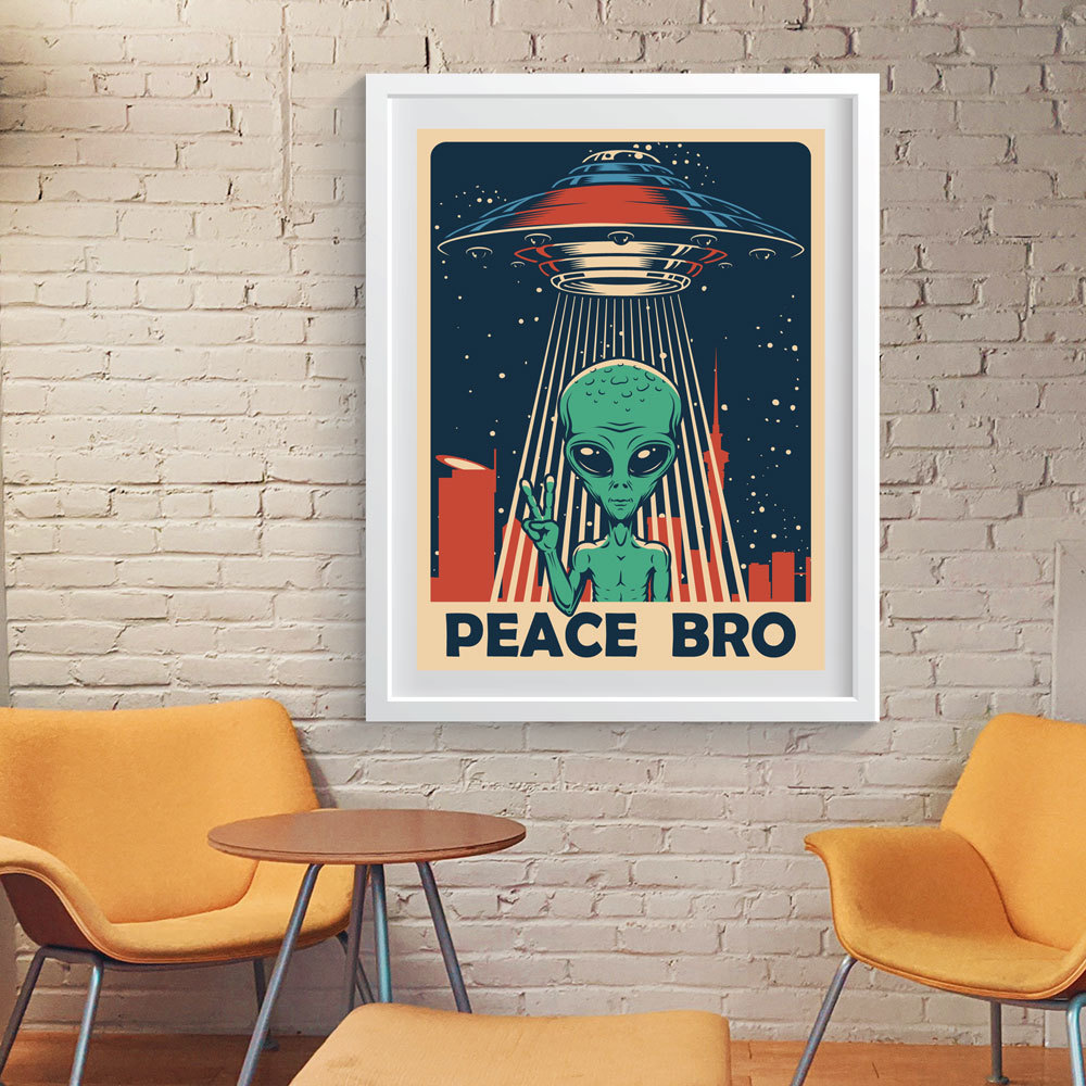 Art Print - Illegal Alien in Auckland